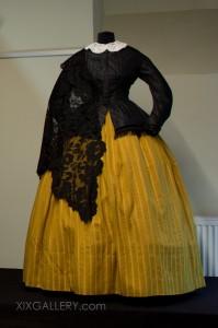 Stanik z baskiną 1845-1855