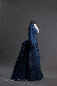 Suknia około 1875-1884 r.